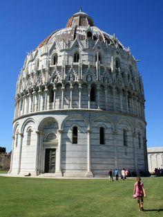 El Duomo de Pisa - baptisterio