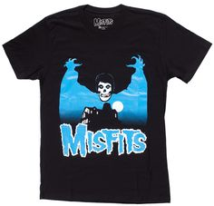 72f2145a MISFITS VAMPIRE T SHIRT - The Crimson Ghost lurks behind every corner. This  officially licensed
