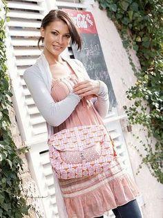 DIY-Tutorial: Shoulder bag with attached pocket sew via DaWanda.com
