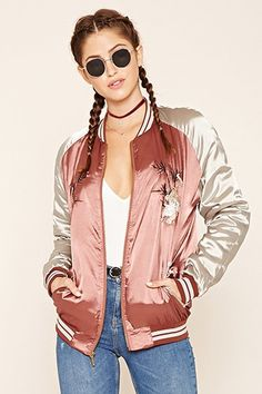 4e25c3ca9 189 Best Embroidered bomber jackets images in 2018 | Bomber jackets ...