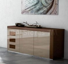 Largest China, Buffets And Cabinets Collection: Durable Wooden Construction  Combined With Rich High Gloss Finish Give This Buffet By ESF Furniture Its  Ultra ...