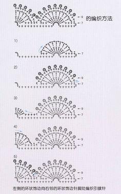 La selección de los diseños revista Crochet - LA CASITA DE MABELY - Gabitos