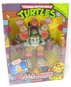 2013 TMNT M.E.C.H. Wreckers Raphael