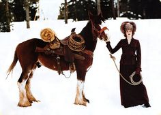 Winter in the Wild West Cowgirl Style