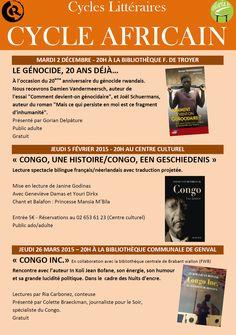 Escapages: Rencontre avec In Koli Jean Bofane à la Bibliothèque communale de Genval (Rixensart)