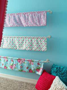 DIY caden lane fabric bookcase