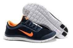 c2022f570494 Nike Free 3.0 V5 Suede Dark Blue Cheap Nike Running Shoes