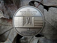 "The Patek Philippe Medallion is an extremely rare and very hard to find original Patek Philippe medal coin, issued in 1997 to commemorate 150th anniversary of Patek Phillippe // Patek Philippe Geneve commemorative medal coin unframed print. Price starts at $22 (Petite 8"" x 10"")."