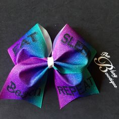 Pixie Dust Tsum Tsum Cheer Style Bow
