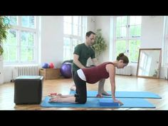 3rd trimester pilates video