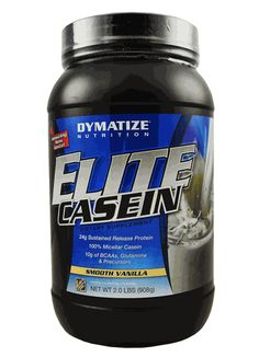Dymatize Elite Casein Protein Powder 2lb l Rock Bottom Fitness