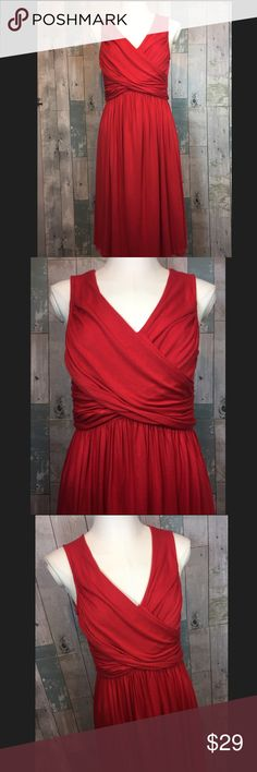 Girls from Savoy dress Excellent condition!! 39 inches in length. 95% viscose and 5% spandex. Elastic band at waist. Smoke free and pet free home!! Anthropologie Dresses Midi