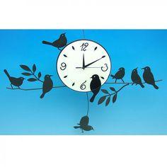 For the avid bird watcher. From Clover Fields Clover Field, Metal Clock, Handmade Soaps, Fields, Great Gifts, Hobbies, Bird, Amazing Gifts, Birds