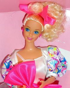1990 APPLAUSE BARBIE (B A R B I E) STYLE COLLECTOR DOLL ~ NEW ~ MATTEL