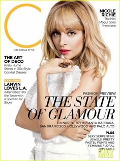 Nicole Richie Covers 'C' March 2012