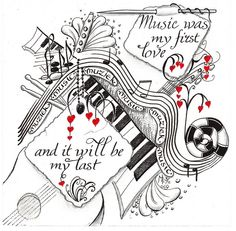 Music was my first love by Mariët Dronten, via Flickr