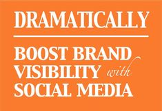 Dramatically Boost Brand Visibility  #ZooSeo