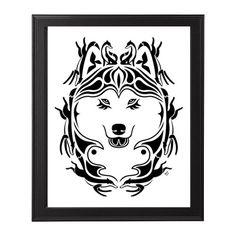 Siberian husky. Call of the wild  original painting by SiberianArt on Etsy, $799.00