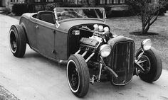 traditional 32 roadster hot rod