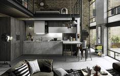Een keuken zonder poespas in industriële stijl. In de collectie Snaidero by Tieleman vind je nu keukenmodel Fun. Een praktische droomkeuken met een stoere uitstraling.