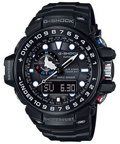 Casio G-Shock Gulfmaster GWN-1000B-1A Watch (New with Tags)