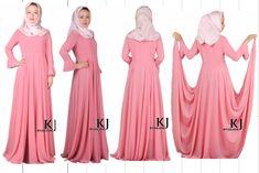 2013 fashion muslim dress islamic dress women's pink abaya/kaftan/jilbab,islamic clothing,abaya/dubai fashion,abaya in dubai $71.73 - 76.73