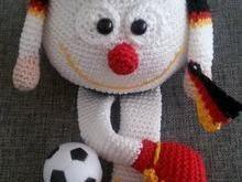 Häkelanleitung Jupp der Fußballfan