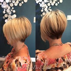 Beautiful short bob cuts that every woman should see - Frisuren - Bob Hairstyles 2018, Haircuts For Fine Hair, Short Bob Haircuts, Cute Hairstyles For Short Hair, Pretty Hairstyles, Short Hair Cuts, Short Hair Styles, Hairstyle Ideas, Stacked Hair