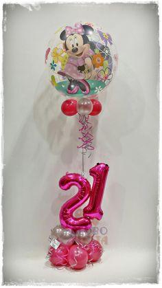 www.globofiesta.com No hay edad para #celebrar una fiesta de #cumpleaños con el personaje de #Disney #Minnie