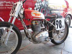 bsa motorcycles | BSA B25 flat track race bike