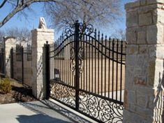 The 783 Best Driveway And Entrance Gates Images On