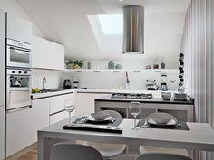 La cucina Oyster di Laura Delfino | Veneta Cucine