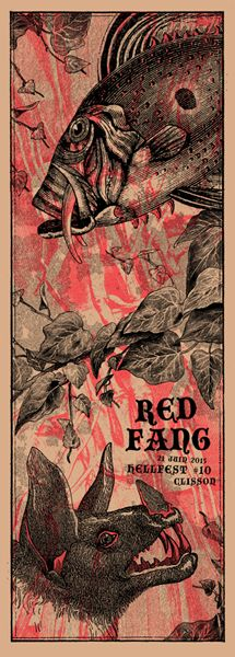 Red Fang - Arrache-toi Un Oeil - 2015 ----