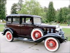 1932 Chevrolet Confederate Sedan
