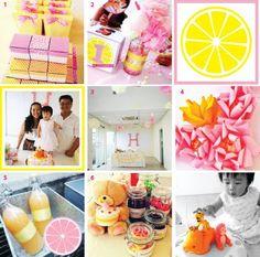 pink lemonade party theme - Google Search