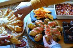 5 sugestões de petiscos para festas. #fingerfood