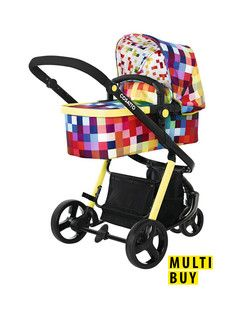 Cosatto Giggle 2 Travel System - Pixelate UK only!!
