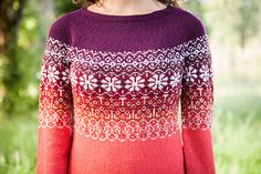 Happily Sweater - Knitting Patterns and Crochet Patterns from KnitPicks.com by Edited by Knit Picks Staff On Sale