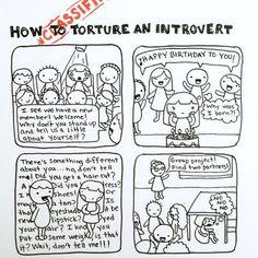 introvert Maureen Wilson/Introvert Doodles