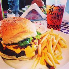 Popular burger from AVILA Burger Caracas Venezuela  The ultimate version ⌚