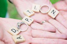 Logan Kilgore - Dalton, GA Adoption baby announcement photo shoot