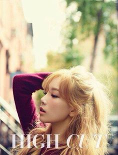 Kim Taeyeon of #SNSD for High Cut October 2014 Issue