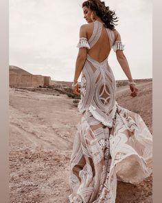 Rue de Seine Wild Heart Collection Свадьба в стиле Марокко Morrocan Bride A BoHo Brides dream dress 🍒 Bohemian Wedding Dresses, Boho Bride, Bridal Dresses, Morrocan Wedding Dress, Maxi Dresses, Ceremony Dresses, Event Dresses, Fashion Dresses, Mode Hippie