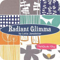 Radiant Glimma Fat Quarter Bundle Lotta Jansdotter for Windham Fabrics