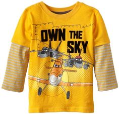 Disney Little Boys' Planes 1 Piece Own The Sky Pullover, Yellow, 4T Disney http://www.amazon.com/dp/B00DSKQB6Q/ref=cm_sw_r_pi_dp_iYi.tb1BJQF3S