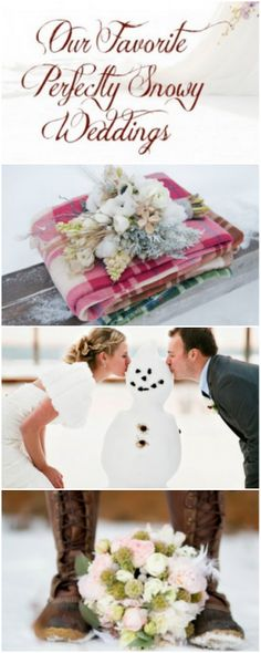 Winter Snow Weddings