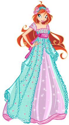 Winx Club Bloom Ball Gowns Dress