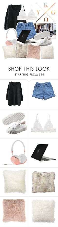 So I stayed, stayed.... by hannancat on Polyvore featuring Bill Blass, Monki, Puma, Speck, Frends, Bloomingville, Pottery Barn and Williams-Sonoma