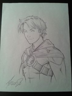 Tim Drake/Red Robin by Marcus To