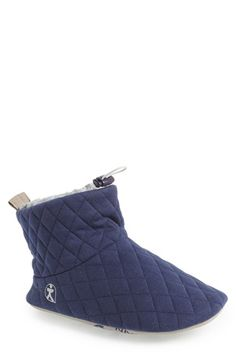 Free shipping and returns on BEDROOM ATHLETICS 'Ottis' Bootie Slipper   (Men) at Nordstrom.com. Soft materials form a super-comfy slipper featuring a quilted top layer and drawstring cuff for warmth.
